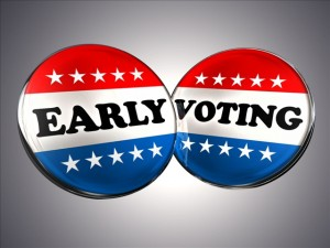 Early Voting is Officially Underway!